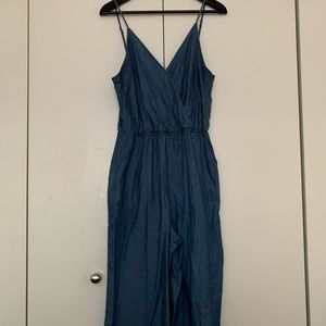 BCBGeneration Chambray Jumpsuit (size M)